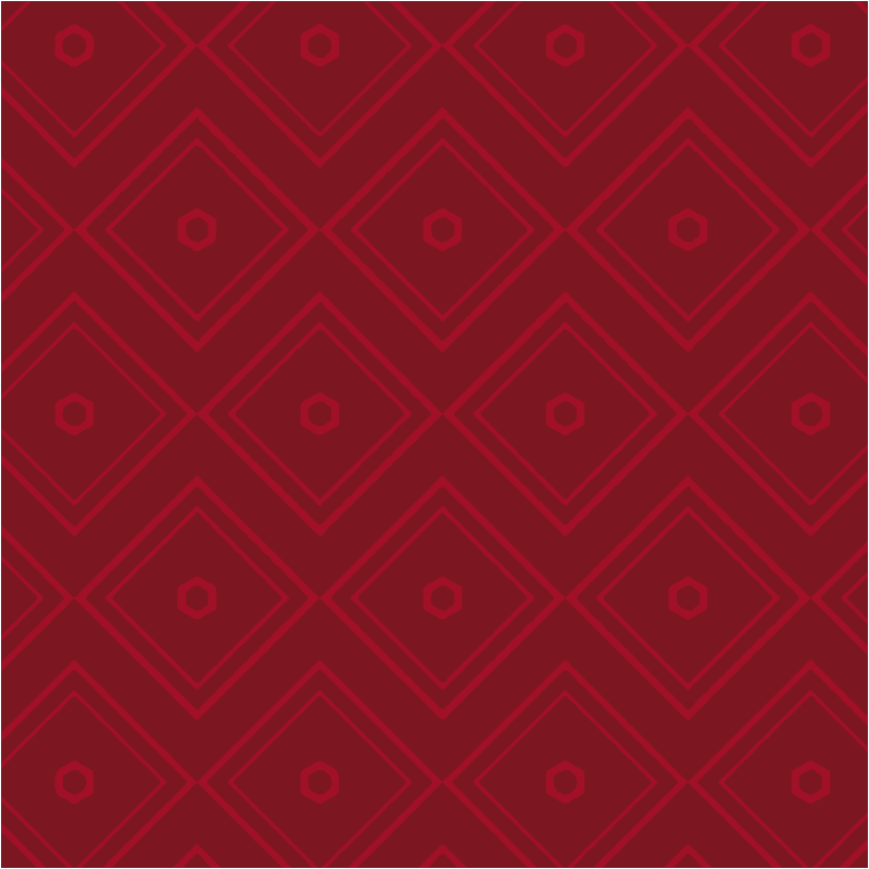 TenStickers. Vintage red square patterns furniture decal. Furniture decal with a squared patterned geometry in red colour to decorate the surface of your furniture. This design is easy to apply.