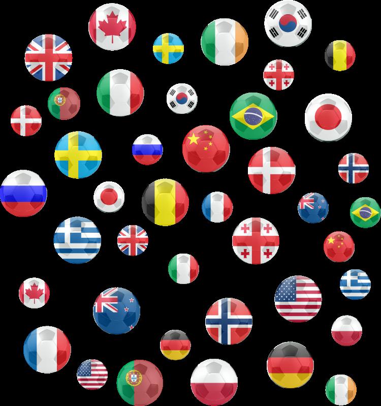 TenStickers. Nalepka nogometne pike. Nogometna stenska umetniška nalepka, ki je ustvarjena s pikami oblikovanja državne zastave, ki bo polepšala vaš dom. Lahko ga uporabite v sobi za spanje ali spalnici.