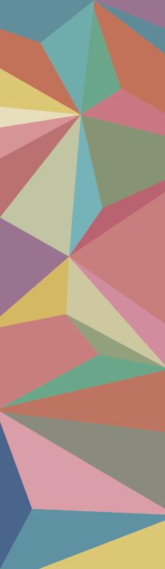 TenStickers. Geometrische bürofensterfolie Fenster Aufkleber. Kaufen sie unseren dekorativen Wandtattoo Fenster für ihre büroräume. Dieser entwurf wurde mit dem erscheinungsbild einer abstrakten geometrie in mehreren farben erstellt.