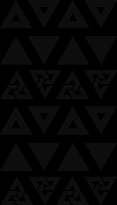 TenStickers. Moderne dreiecke wandtattoo. Kaufen sie unser dekoratives schlafzimmer-wandtattoo mit geometrischen dreiecken, die sie in jeder farbe haben können, um die wandoberfläche zu verschönern.