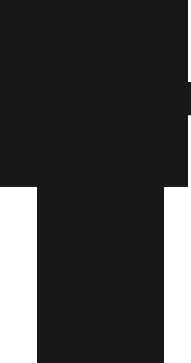 TenStickers. 하프 음악 벽 스티커. 하프의 고품질 디자인을 보여주는 훌륭한 악기 벽 스티커!