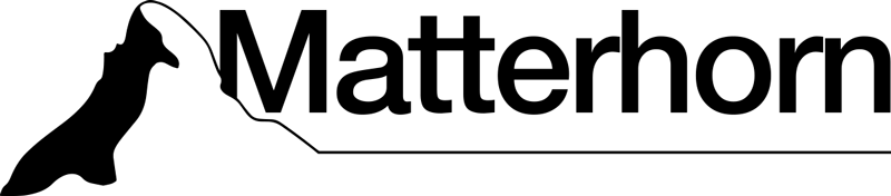 TenStickers. Decorazione murale Cervino. Silhouette sticker decorativa che disegna la vetta del monte Cervino ed è disponibile in varie opzioni di colore e dimensioni. L'applicazione è semplice.