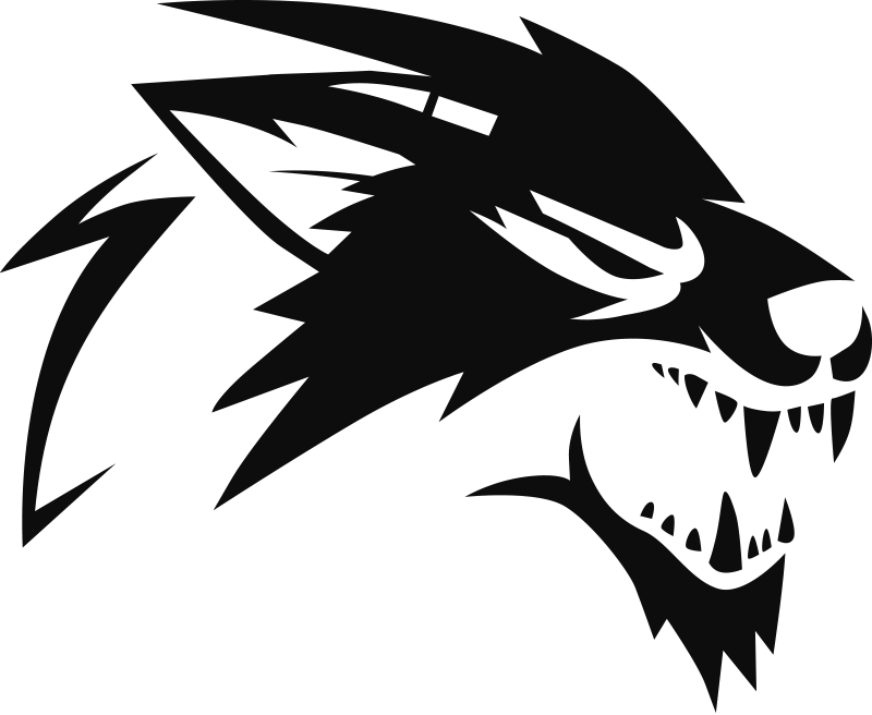 TenStickers. Roaring wolf car Decal. Decorative car vinyl sticker of a roaring wolf in silhouette to beautify any car of vehicle surface. Available in different colour.