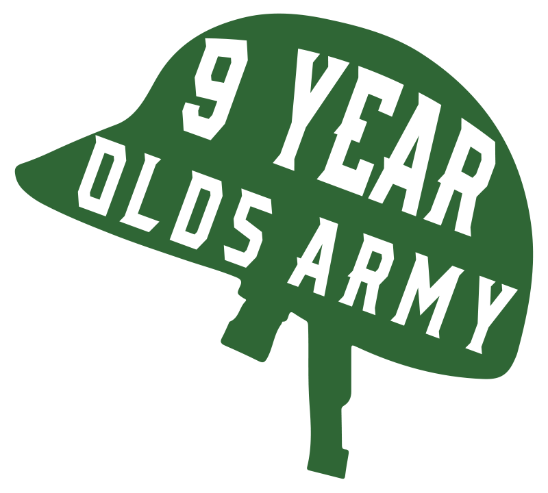 TenStickers. Personalise years old army Car Decal. Customizable vinyl decal with the design of an army symbolic representation that state the years of career service on it.
