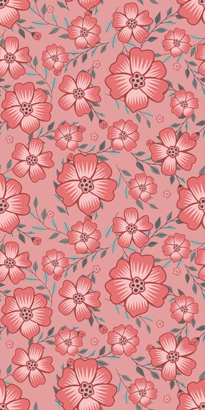 TENSTICKERS. ピンクのデイジーの花冷蔵庫ラップ. ピンクのデイジーの花のデザインが付いた粘着式冷蔵庫ラップステッカー。製品の表面に合うサイズで購入してください。