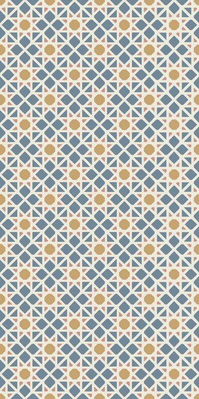 TenStickers. Oriental  window decal. An original oriental window sticker design of an Arabian pattern . Buy it in the size that best fit the space to apply it.