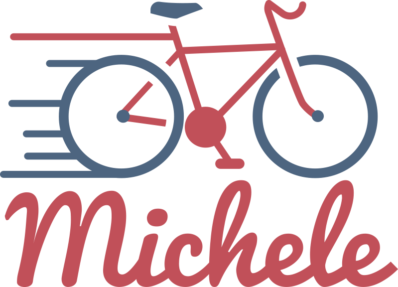 TenStickers. Personalised bike Car Decal. Customize a name on our car sticker with the design of a cycling bike on it. Provide the name you want on it and choose the size.