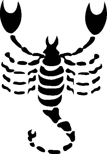 TenStickers. Sticker signe astrologique Scorpion. Stickers du signe du zodiaque en astrologie : Scorpion. Personnalisez votre intérieur avec votre signe astro pour apporter une touche originale à vos murs.Super idée déco !