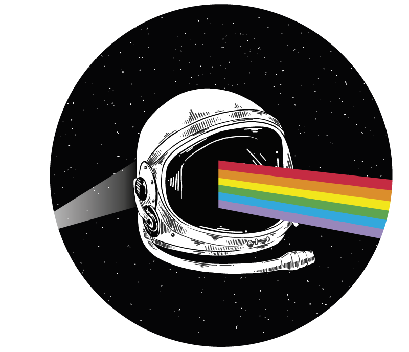 TenStickers. Pink Floyd cosmic laptop skin decal. Pink Floyd cosmic laptop skin decal to decorate a laptop in space element style. It is easy to apply and available in any size of choice.