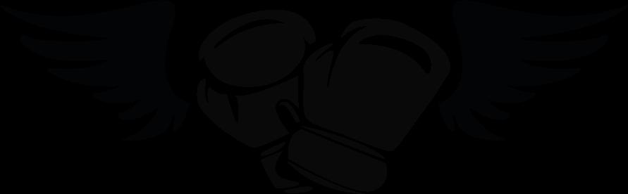 TENSTICKERS. 翼の壁のステッカーが付いているボクシンググローブ. 任意の平らなスペースを飾るための翼壁ステッカー付きボクシンググローブ。デザインはさまざまな色のオプションでカスタマイズ可能です
