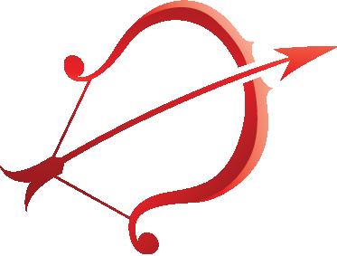 TenStickers. Sticker boogschutter horoscoop. Een leuke muursticker voor diegene die geïnteresseerd zijn in astrologie. Een wandsticker van het sterrenbeeld: boogschutter.