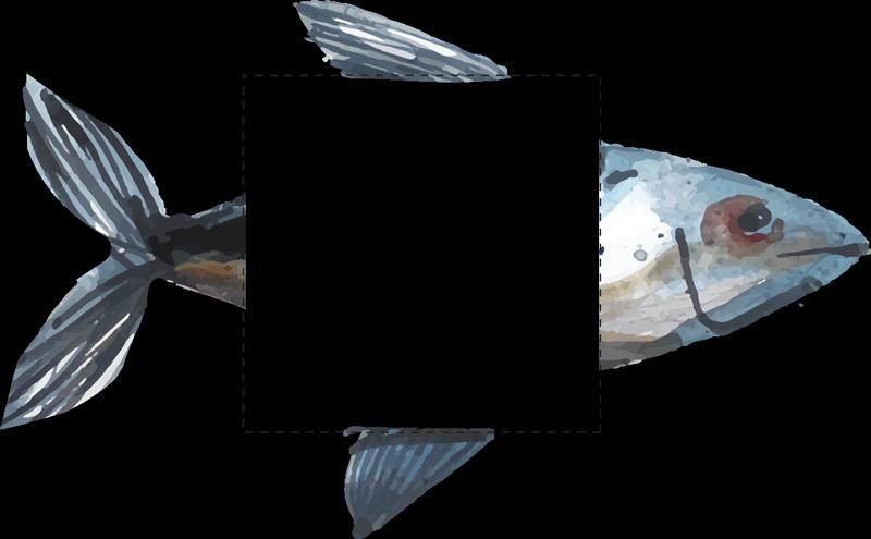 TENSTICKERS. 抽象的な海の食べ物スイッチライトスイッチカバーデカール. これで、高品質のビニールで作られたオリジナルの海の魚のプリントでライトスイッチの表面を飾ることができます。さまざまなサイズがあります。