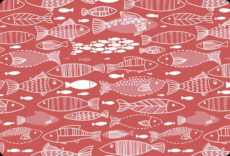 TENSTICKERS. 海のラップトップの皮膚のデカールの下の多くの魚. お使いのデバイスのための海の魚のラップトップのステッカーの下に装飾。必要なサイズで利用でき、アプリケーションは簡単です。