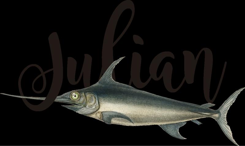 TenVinilo. Vinilo animales pez espada gigante con nombre. Vinilo animales de pez espada gigante con nombre para que decores tu casa o habitación con tu estilo. Alta calidad ¡Envío a domicilio!