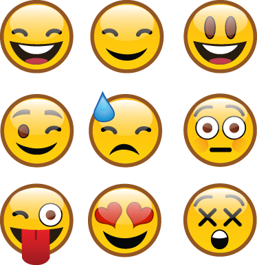 TenStickers. WhatsApp Emoji Sticker. A collection of emoji decals from the smartphone app, 'WhatsApp'. If you are looking for fun stickers then this is for you!