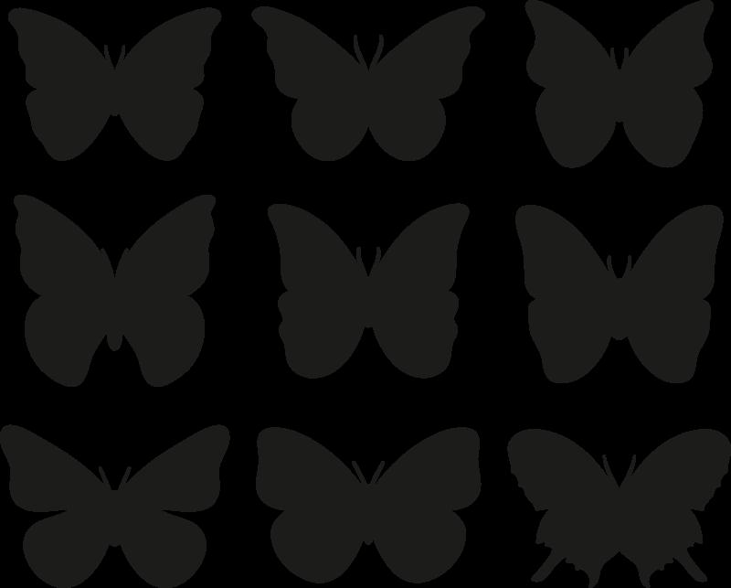 TenVinilo. Perchas adhesivas infantiles de mariposas. Compra nuestras perchas adhesivas infantiles de mariposas para la habitación de tu hija. Puedes elegir el color ¡Envío a domicilio!