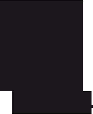 TenStickers. Bruid jurk bloemen sticker. Op deze sticker zie je een silhouet van een prachtige bruid die naar het altaar loopt. Haar sluier waait achter haar aan met haar haren in de wind.