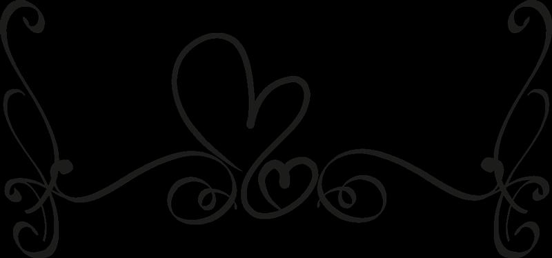 TenVinilo. Vinilo cabecero cama flor elegante ornamental. Decora el espacio de la habitación con nuestro vinilo para cabezal dormitorio con líneas de flores y corazones. Alta calidad ¡Envío a domicilio!
