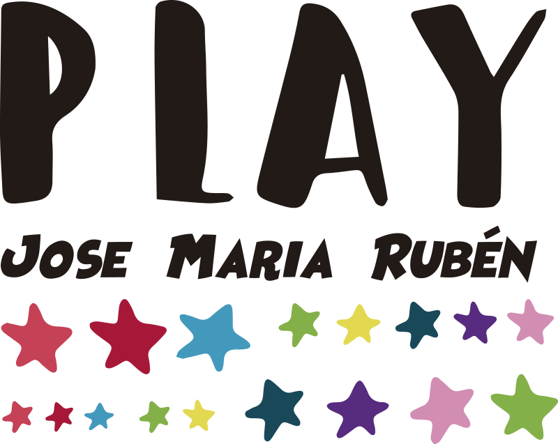 TenStickers. Autocolantes decorativos de brinquedos Brincar crianças. Decore o espaço do seu filho com o nosso vinis decorativos personalizado play space original. Está disponível em diferentes opções de tamanho.