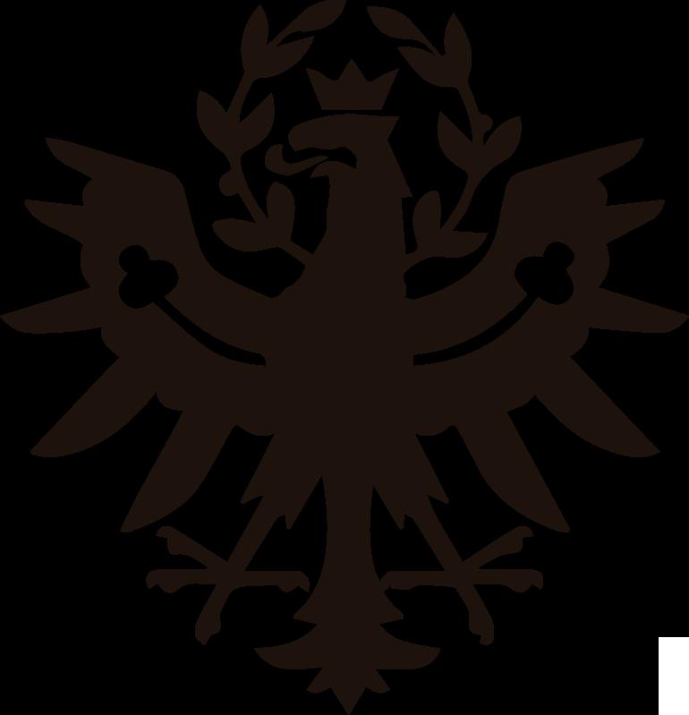 TenStickers. Aufkleber Schilder Tirol Adler. Ikonisches Schild Aufkleber Design vom Tirol Adler, um jede flache Oberfläche der Wahl zu dekorieren. Es ist in anpassbaren Farb- und Größenoptionen erhältlich.
