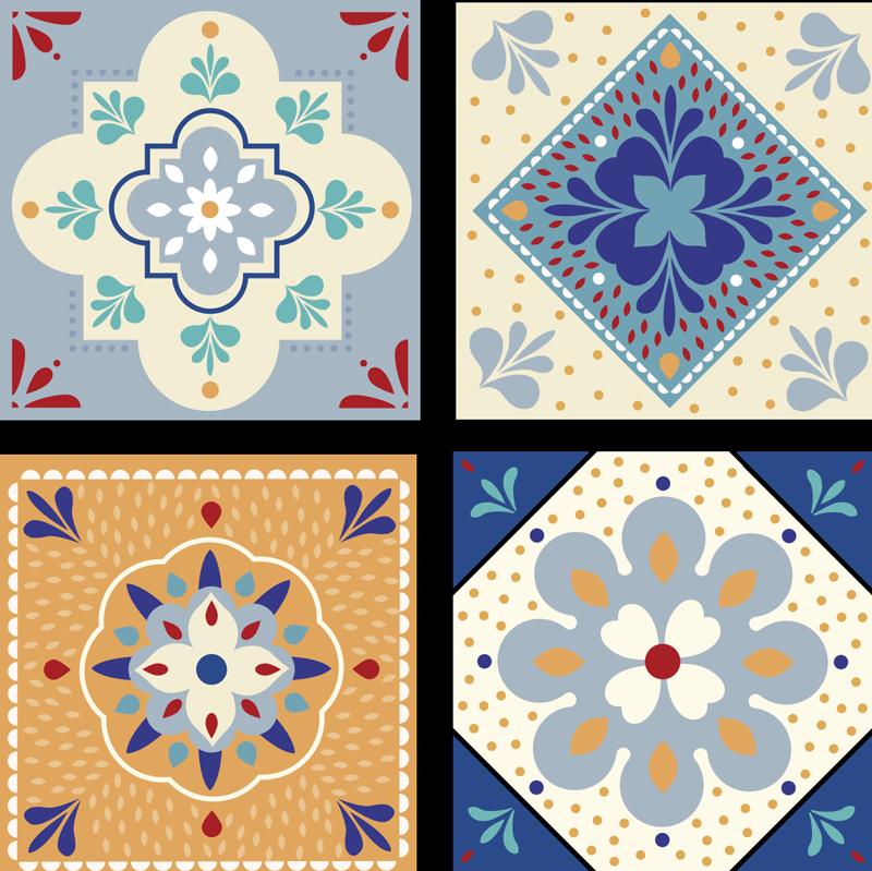 TenVinilo. Azulejos vinílicos paleta de colores. Bonitos vinilos azulejos baño coloridos y adhesivos para embellecer su cocina y el baño de forma original ¡Envío a domicilio!