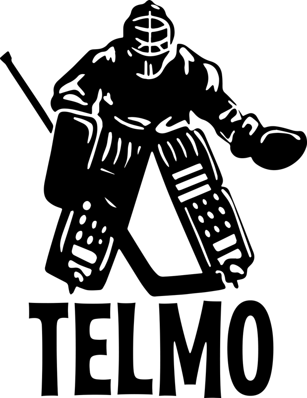 TENSTICKERS. カスタムデカールの名前を持つホッケープレーヤー. ティーンエイジャーとキッズスペースのためのパーソナライズ可能な名前ステッカーが付いたホッケー選手。適用は簡単で、どのサイズでも利用できます。