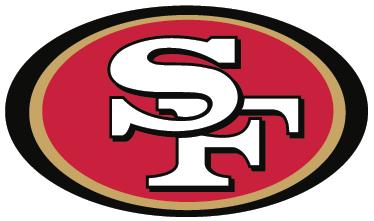 TenVinilo. Vinilo decorativo San Francisco 49ers. Simbólico Adhesivo del equipo estadounidense de fútbol americano de la NFL: los Niners. Apasionante deporte con gran disciplina.