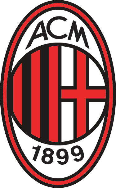 TenStickers. Sticker logo Milan AC. Découvrez notre sélection de stickers muraux destiné à tous les amateurs de ballon rond.