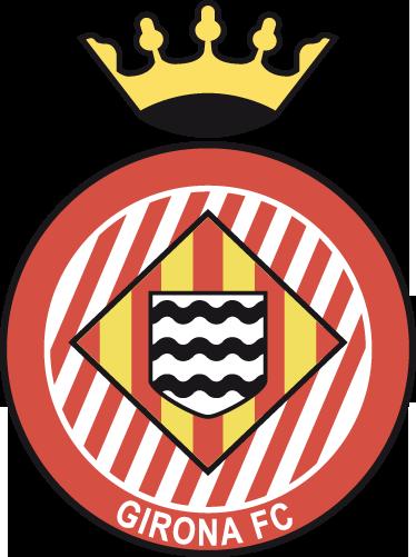 TenVinilo. Vinilo decorativo Girona FC. Escudo Adhesivo del club de fútbol catalán de la ciudad de Girona. Estupendo vinilo para los amantes del deporte y de la Liga Española.