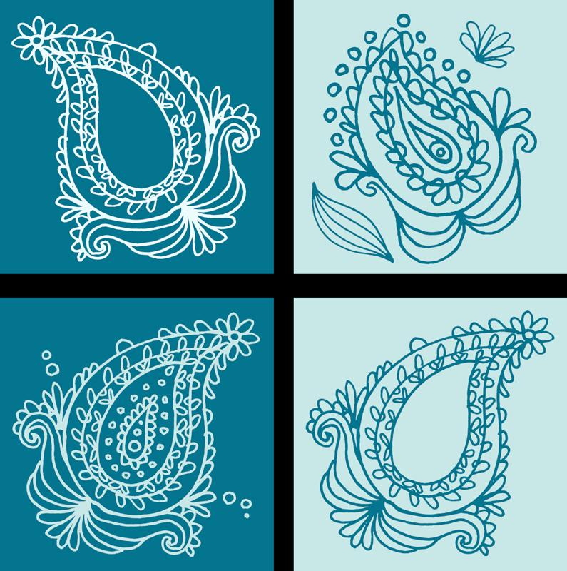 TENSTICKERS. 花柄ペイズリータイル転写デカール. ビニールタイルデカールのオリジナルの装飾でバスルームスペースを変えます。このデザインは、緑色の装飾用花のデザインで作られています。
