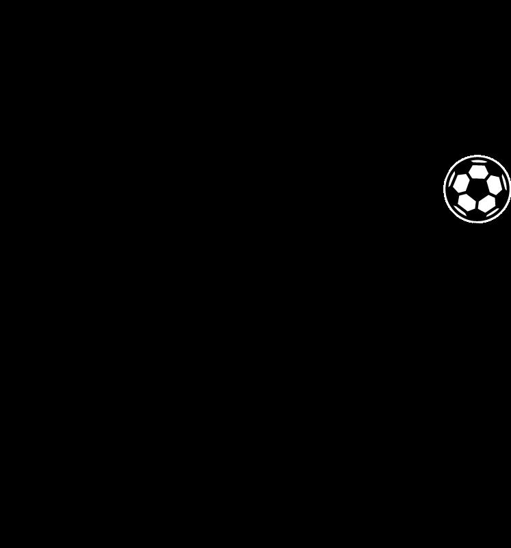 TENSTICKERS. 火の玉サッカーデカールを撮影. 十代の部屋の装飾に素晴らしい装飾的なシルエットのサッカー選手のシルエットデカールデザイン。適用が簡単で品質が良い。