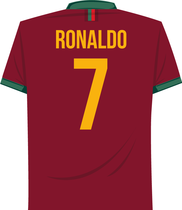 jersey of football