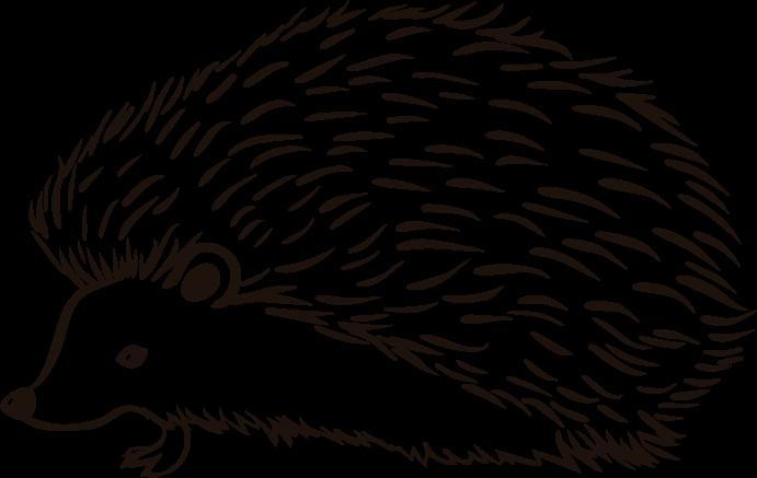 TenVinilo. Vinilo de animales dibujo silueta puercoespín. Vinilo animales infantiles con diseño de silueta de puercoespín que podrás colocar en el cuarto de tus hijos o donde desees ¡Envío a domicilio!
