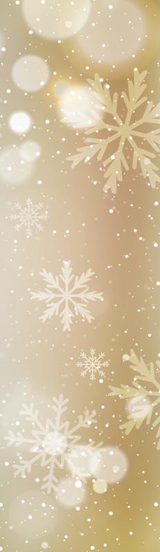 TENSTICKERS. クリスマス雪片光沢のある効果冷蔵庫ラップ. アプライアンススペース用のこの雪片の光沢のあるエフェクト冷蔵庫ステッカーをお見逃しなく。雪の結晶の効果で輝く輝く背景があります。