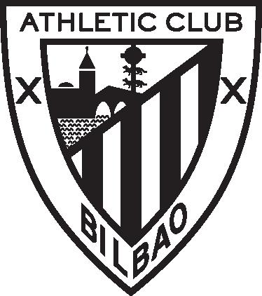 TenVinilo. Vinilo decorativo Athletic Bilbao corte. Escudo del equipo vizcaíno en vinilo de corte monocolor. Si eres un aficionado león has de tener este adhesivo en tu casa.