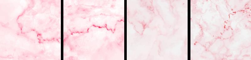 TenStickers. Adesivo per piastrella Piastrelle di marmo rosa. Design adesivo impermeabile piastrelle decorative con una trama di marmo rosa. Il design è decorativo in qualsiasi spazio. Disponibile in qualsiasi dimensione richiesta.