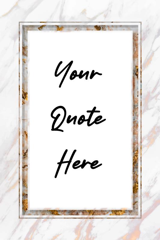 TenVinilo. Frase personalizada en vinilo imitación mármol. Vinilo imitación mármol con frase personalizada en la que te quedará tu propia frase enmarcada en un diseño original ¡Envío a domicilio!