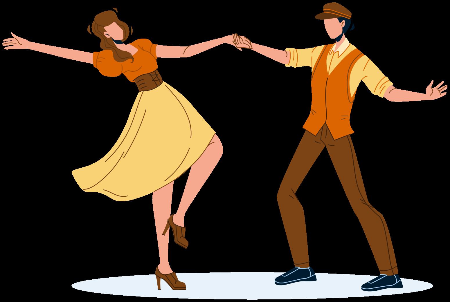 TenVinilo. Vinilo decorativo infantil pasión por el baile. Vinilo infantil de pasión de baile para niños amantes de la danza. Diseño con dos bailarines hecho de primera calidad ¡Envío a domicilio!