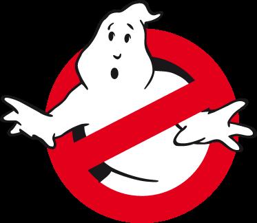 TenStickers. Sticker logo Ghostbusters. Adhésif symbole du film connu daté de 1984, une comédie fantastique que toute une génération d'enfants ont pu suivre.