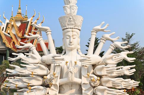 TenStickers. Sticker Boeddha handen. Voor degenen die van religie houden is deze muursticker ideaal. Het symboliseert Boeddha. Dan past deze sticker goed op uw wanden als decoratie