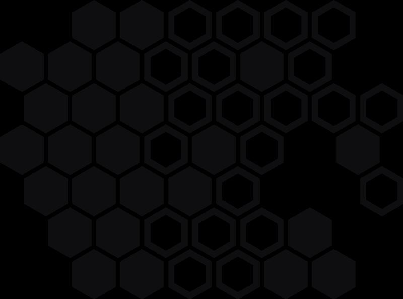 TenStickers. Autó méhsejt nyomtatott autó matrica. Dekoratív méhsejt nyomtatott autó matrica kialakítás, különböző színben kapható. Kiváló minőségű vinilből készül és könnyen alkalmazható sík felületen.