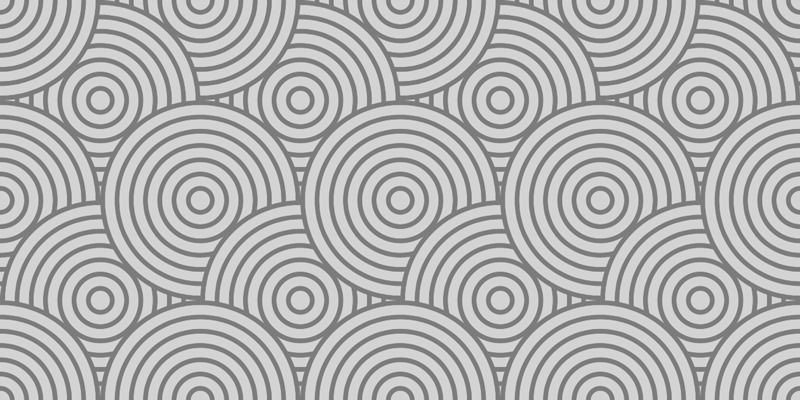 TenStickers. Vinil para chão Círculos cinza modernos. Este produtode autocolante de chão apresenta camadas de círculos cinza sobrepostos. +10. 000 clientes satisfeitos. Materiais de alta qualidade.
