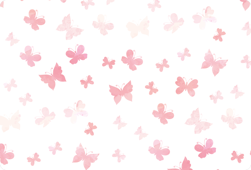 TENSTICKERS. ピンクの蝶のラップトップのステッカー. ピンク色とさまざまなサイズでデザインされたトレンディな蝶柄のラップトップスキンデカール。すべてのラップトップサイズモデルで利用できます。