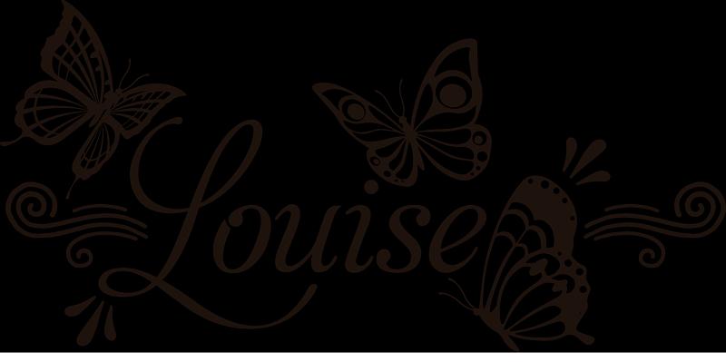 TENSTICKERS. 名前の蝶の壁のステッカーとトレンディなパターン. あなたの子供の部屋を美しくするために名前でカスタマイズ可能な流行の蝶パターンステッカー.. 必要な任意のサイズで利用できます。