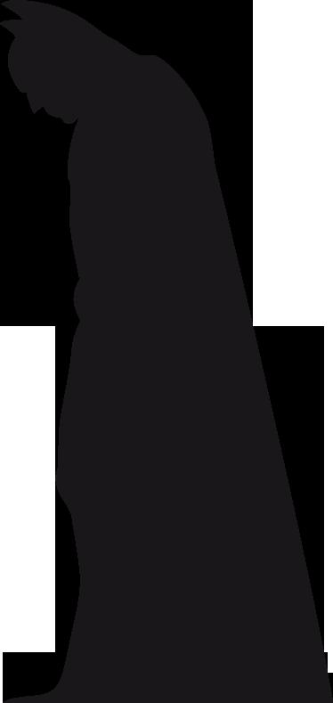 TenStickers. Sticker decorativo silhouette Batman Begins. Sagoma in formato adesivo del famoso uomo pipistrello, alter ego di Bruce Wayne. Per tutti i fan del famoso, nonche' classico, supereroe.