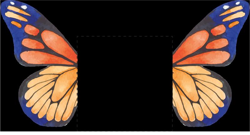 TENSTICKERS. 可愛い二色蝶ライトスイッチカバーステッカー. スイッチのスペースが退屈に見える必要はありません。ライトスイッチ用にこのかわいい蝶のステッカーを購入してみませんか。問題なく簡単に適用できます。