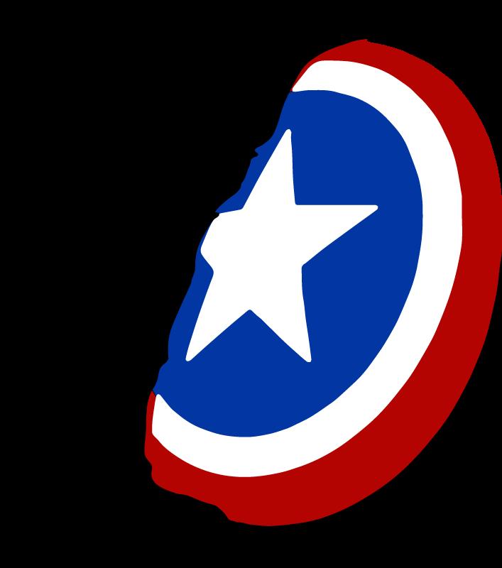 TENSTICKERS. キャプテンアメリカの盾のスーパーヒーローのデカール. キャプテンアメリカの盾のスーパーヒーローの壁のステッカーはあなたのスペースを飾ります。キャプテンアメリカンムービーの防御と攻撃を描いた象徴的な装備。