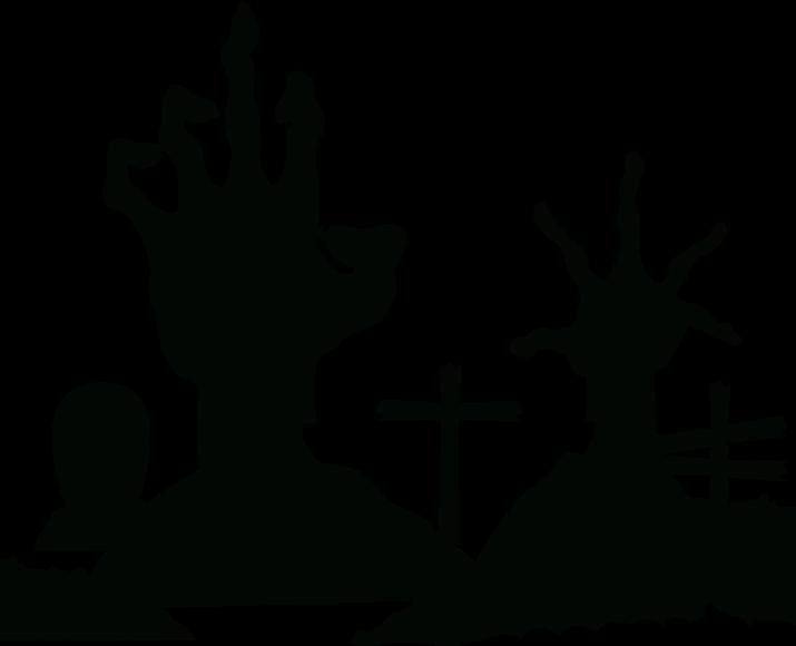 TENSTICKERS. ゾンビの手ハロウィンウォールステッカー. このゾンビの手のステッカーは、地面、この場合は床から手を伸ばしている2つのゾンビの手を描いています。適用と取り外しが簡単です。