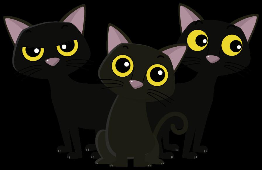 TENSTICKERS. 黒子猫犬デカール. 黒い子猫猫動物デカールは、お好みの空間を飾ります。あなたが猫を愛し、生き物に夢中なら、この3匹の子猫はあなたのためです。