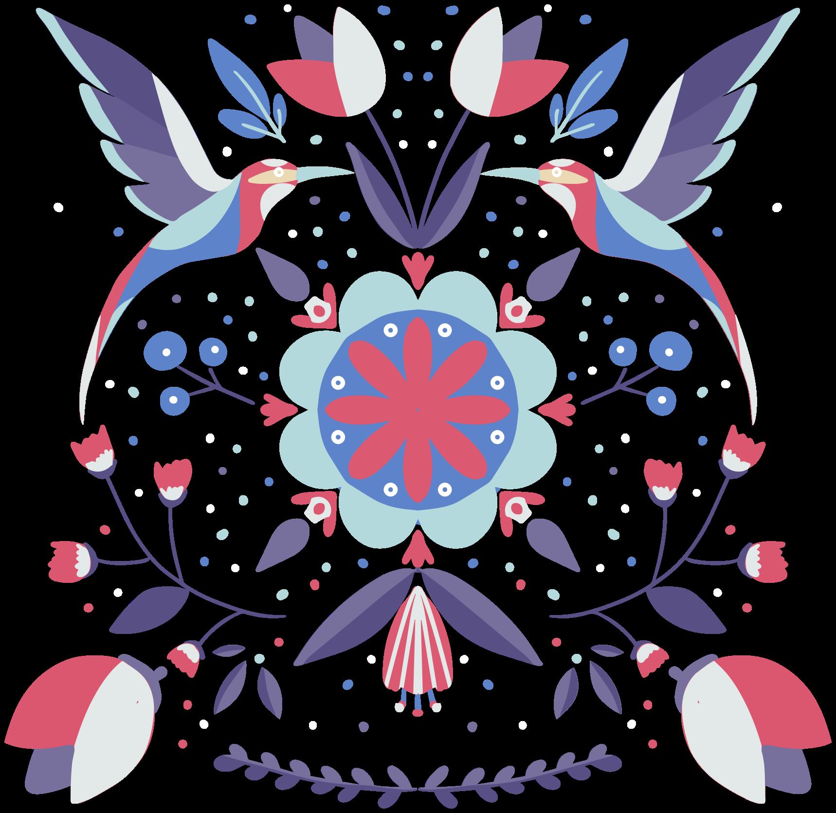 TENSTICKERS. ポーランドの伝統芸術の花の壁のステッカー. 美しい装飾的なポリッシュの伝統的な花の壁のアートデカールで、選択したスペースを美しくします。オリジナルで耐久性があり、自己粘着性があります。